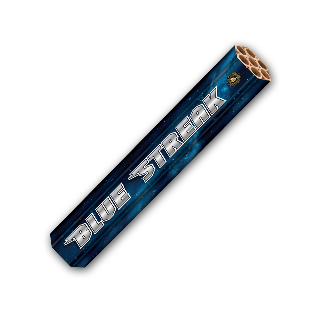 Blue Streak Candle